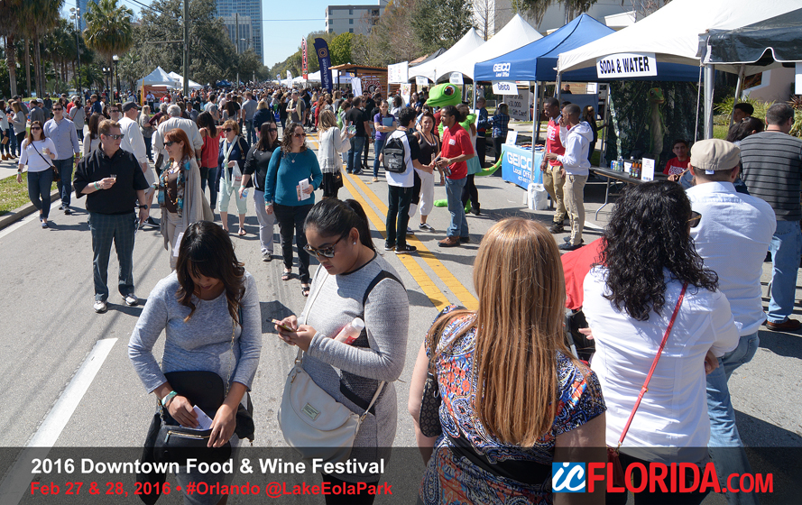 Food And Wine Festival Lake Eola
