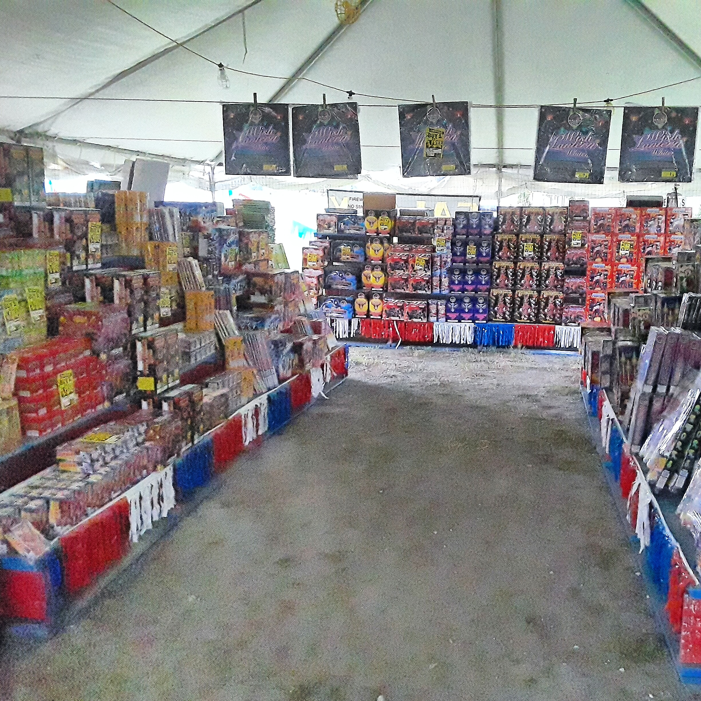 Once you pick-up your fireworks and pay for them. One will have to sign a release hold-harmless legal agreement against this store and the manufacturers. & 2018 Galaxy Fireworks Tents in Metro Orlando Review \u2013 Otownfun